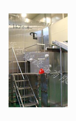 一段式流态化单体速冻机