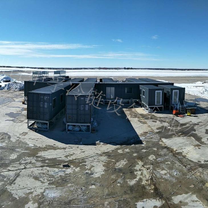 加拿大集装箱移动式淡水鱼加工厂